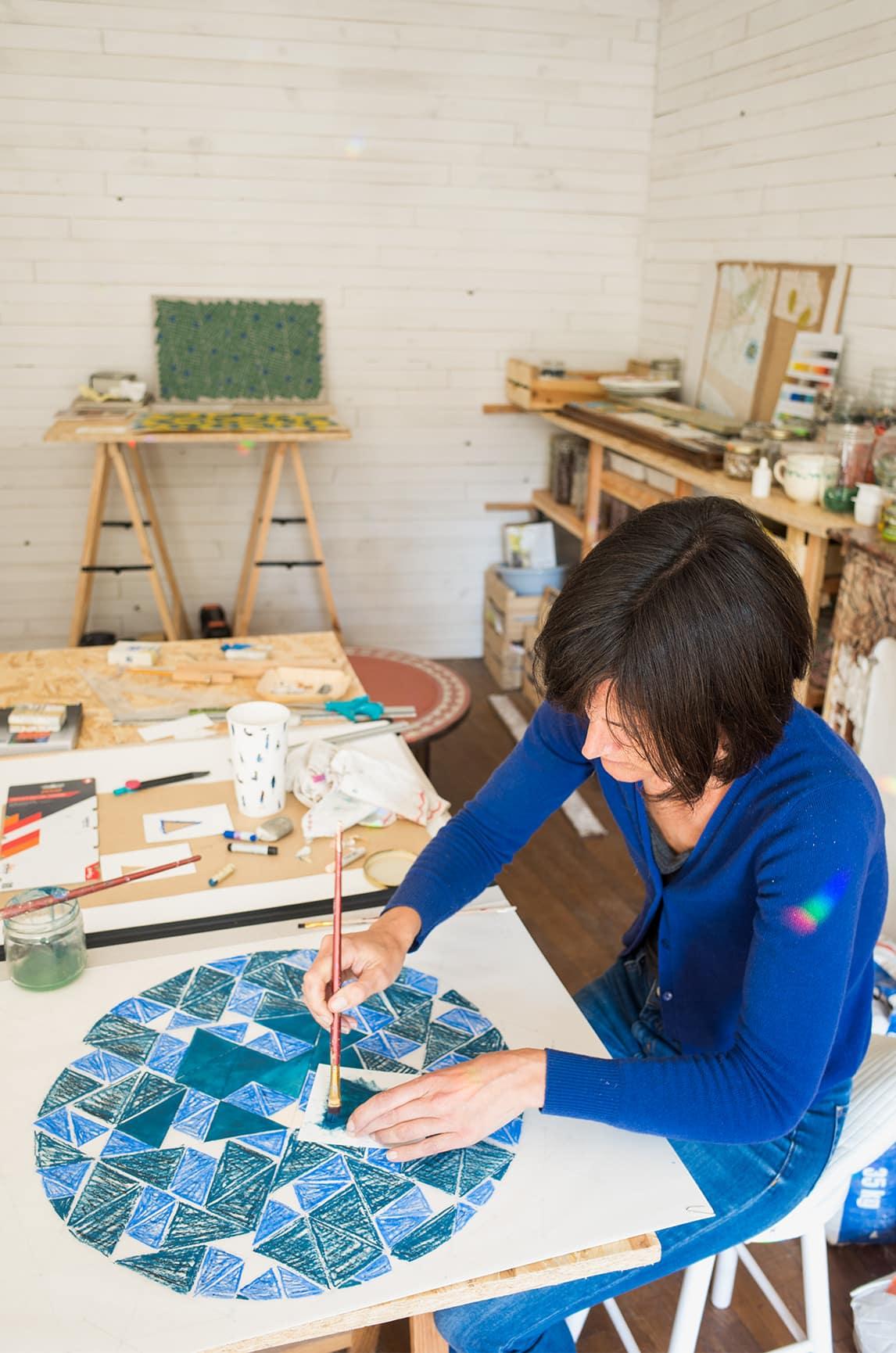 Atelier Libre Nature Aliénor Roullier Mosaïste Art Contemporain Hautes Pyrénées Occitanie